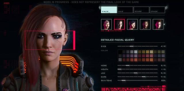 Cyberpunk 2077 - Створення символів