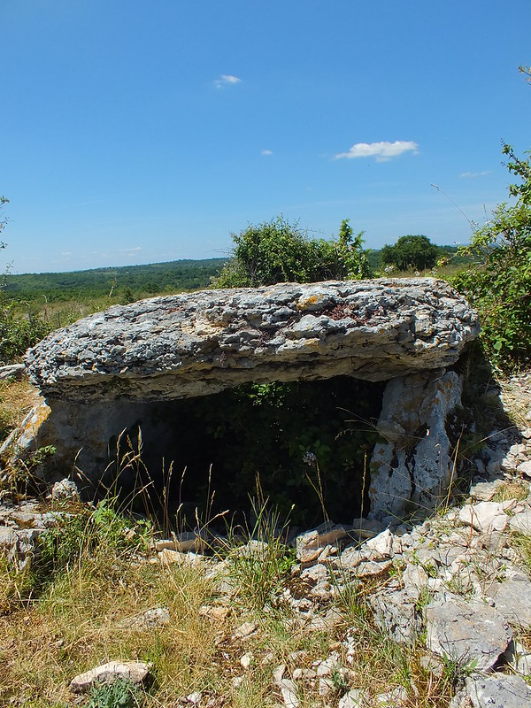 Gréalou - Dolmen du Pech Laglayre 1