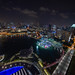Singapore at Night, Marina Bay Hotel, Singapore