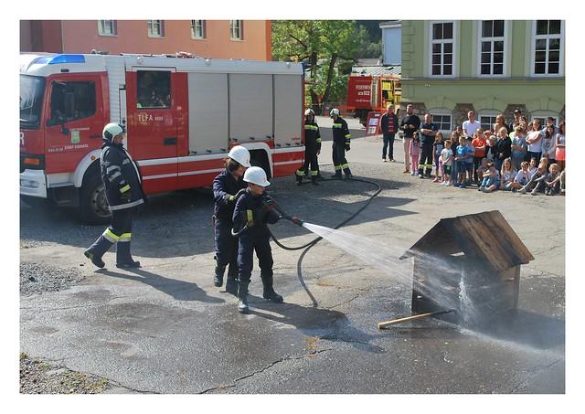 Feuerwehrtag NMS und Poly