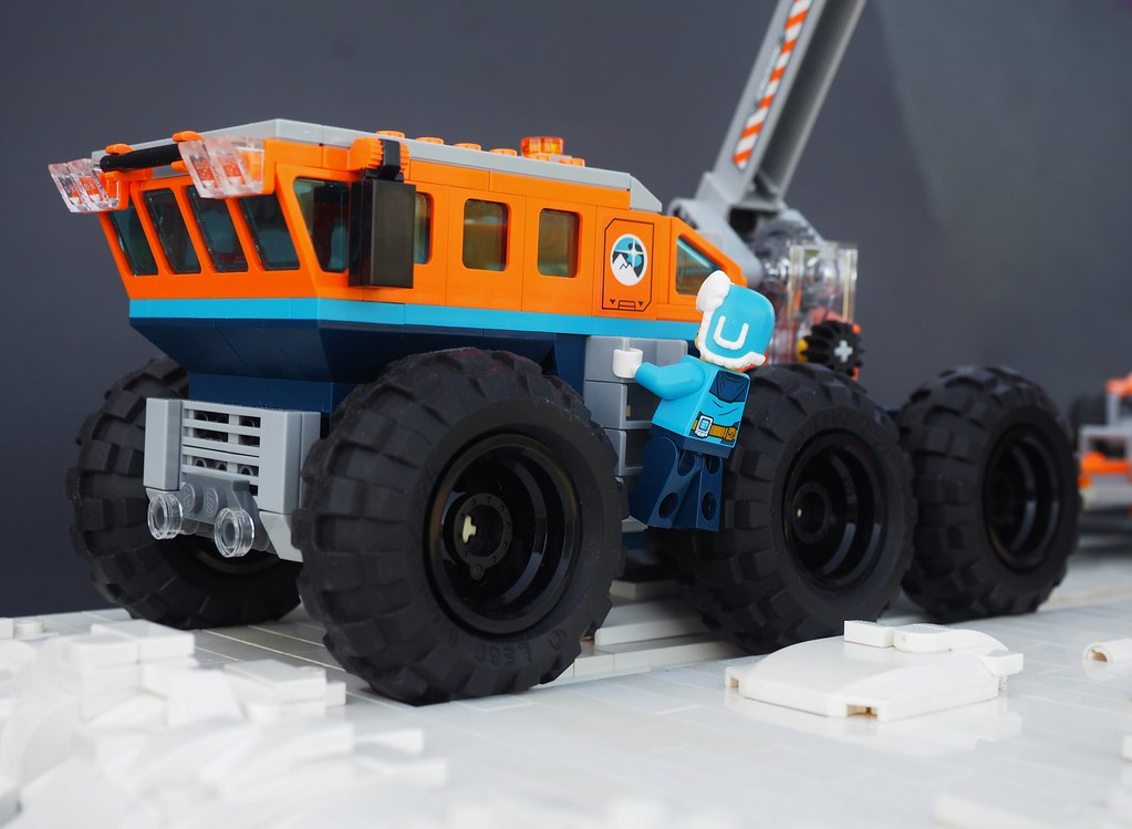 Arctic Crane Truck