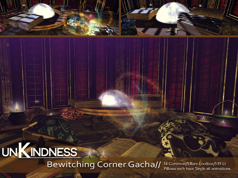uK – Bewitched Corner Gacha – Lootbox