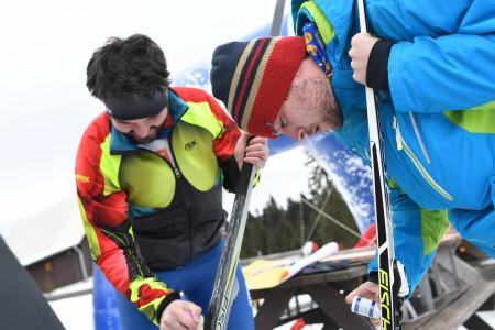 Jak namazat nové lyže stoupacími vosky