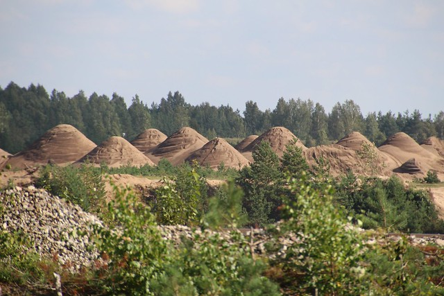 Männiku liivakarjäär / Männiku sand pit, Estonia