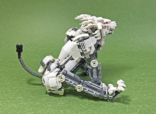 LEGO Mech Lion ver2-06