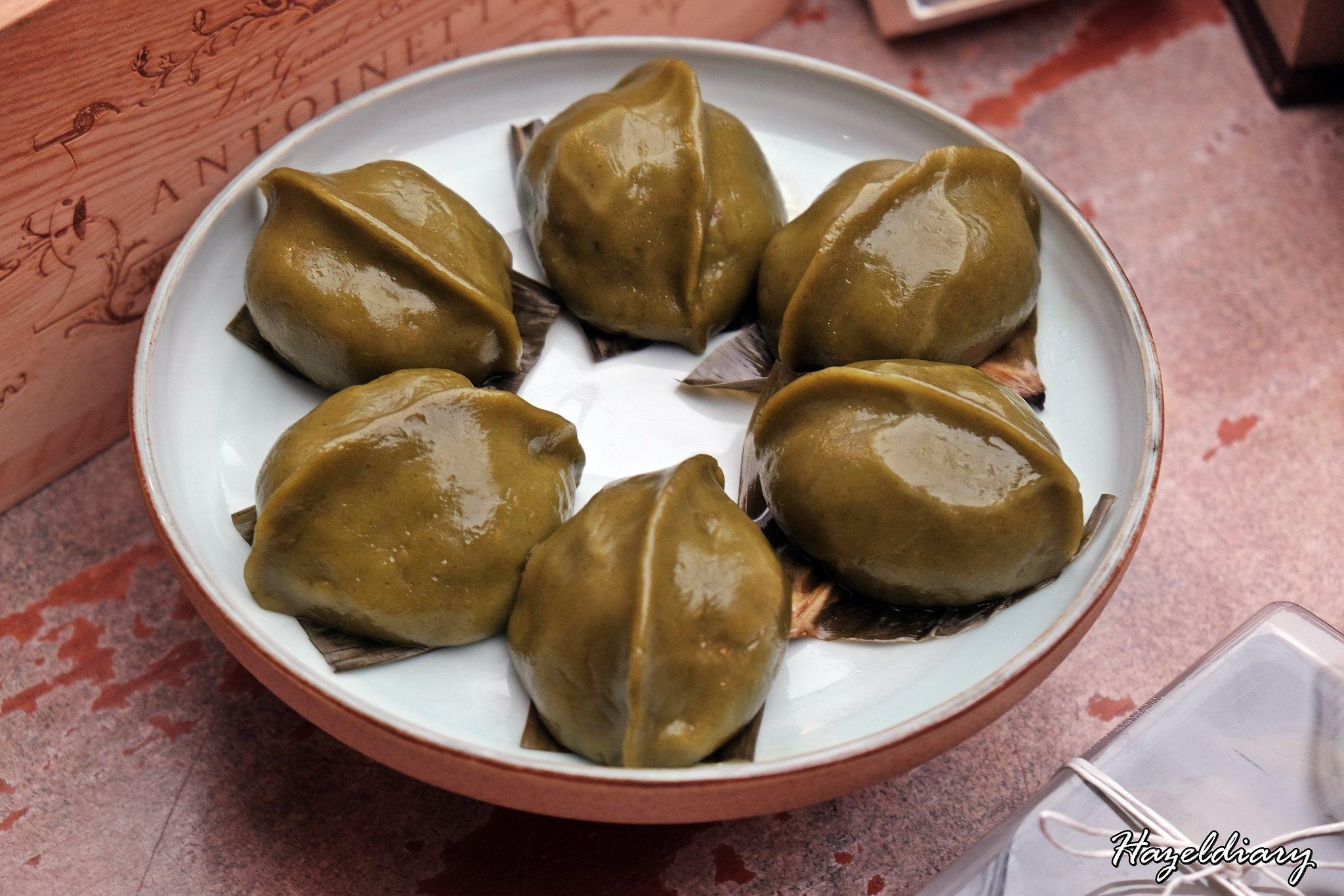 Pang Hakka Delicacies-Hakka Mugwort Kueh