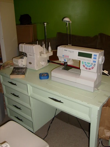 2010 sewing room - South Nashville