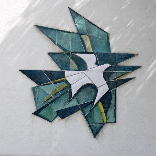 Fun 1950s/60s mosaic