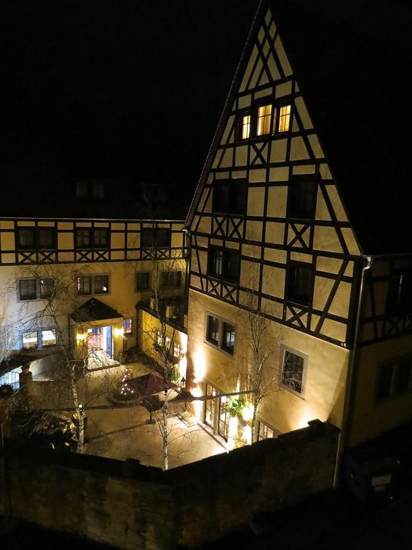 Nachtsicht von Wehrgang auf PrinzhotelIMG_8094