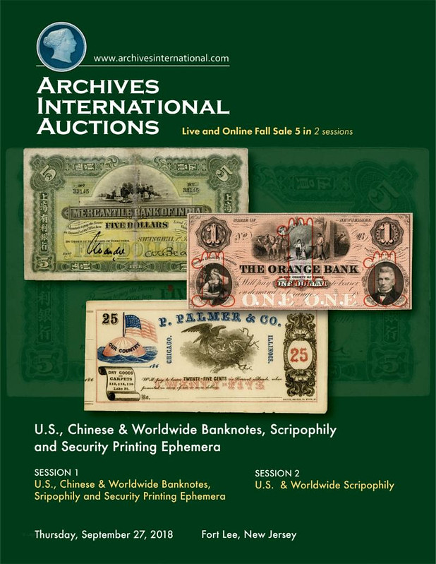 Archives International Online Sale 5 cover front