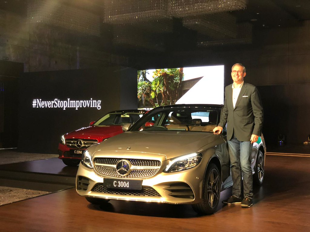 Live 2018 Mercedes Benz C Class Launched At Rs 40 Lakh
