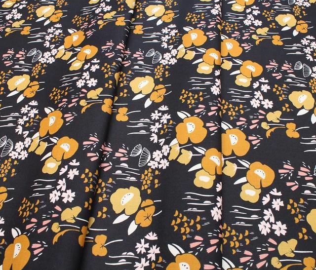 Dashwood Studio Dovestone DOVE 1360 Floral on Black
