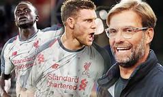 Liverpool continue perfect start with slender Crystal Palace win as Milner and Mane bag