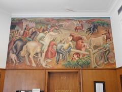 Kingman, Kansas Post Office Mural