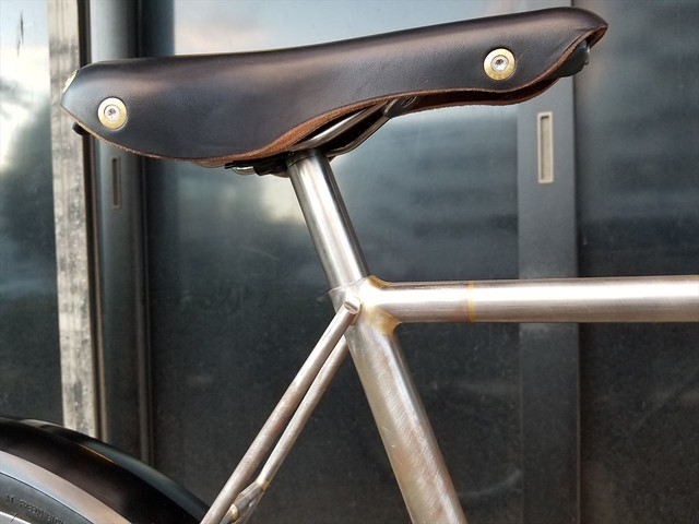Mr,S's CORTEN STEEL BIKE