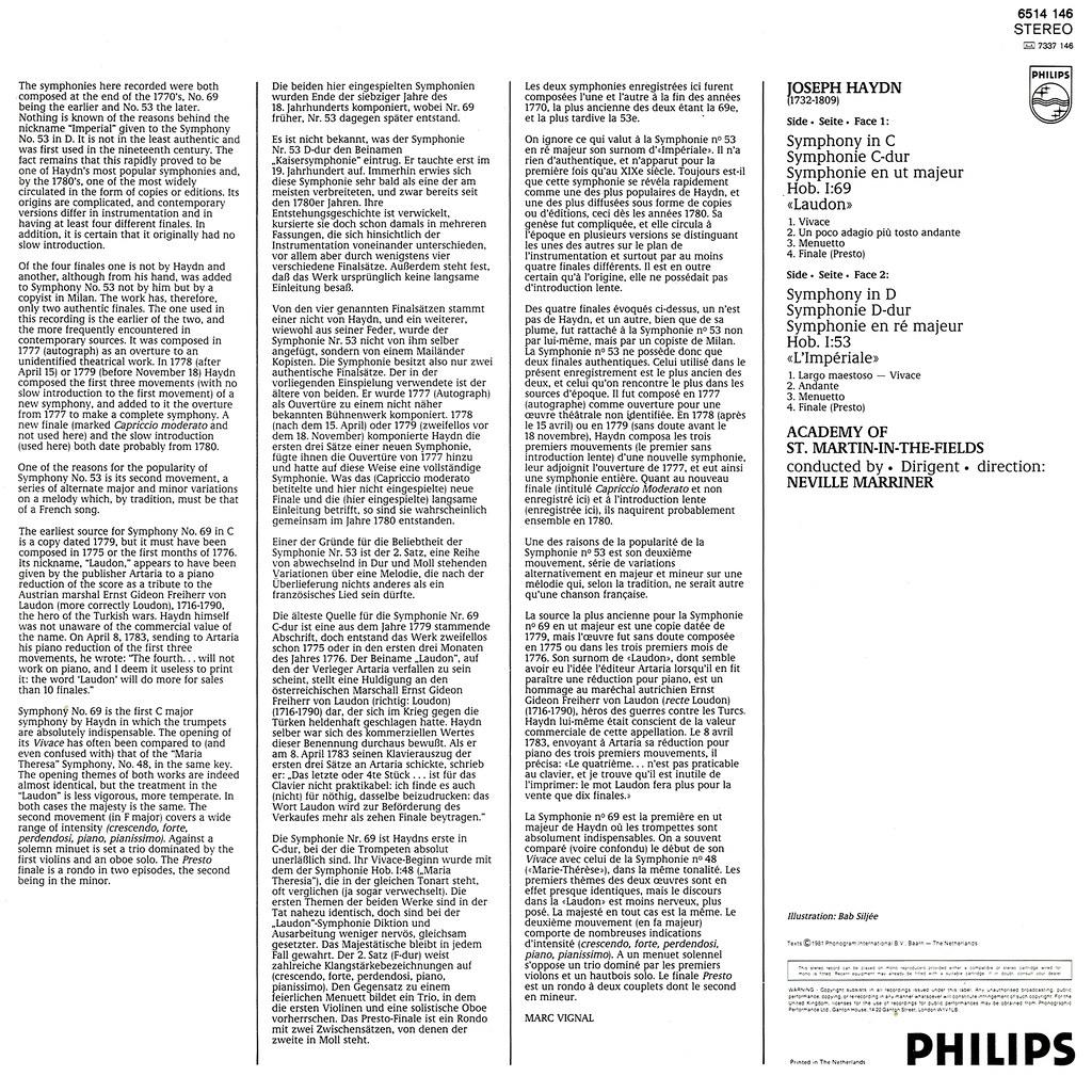 Franz Joseph Haydn - Symphonies Nos 84 & 85