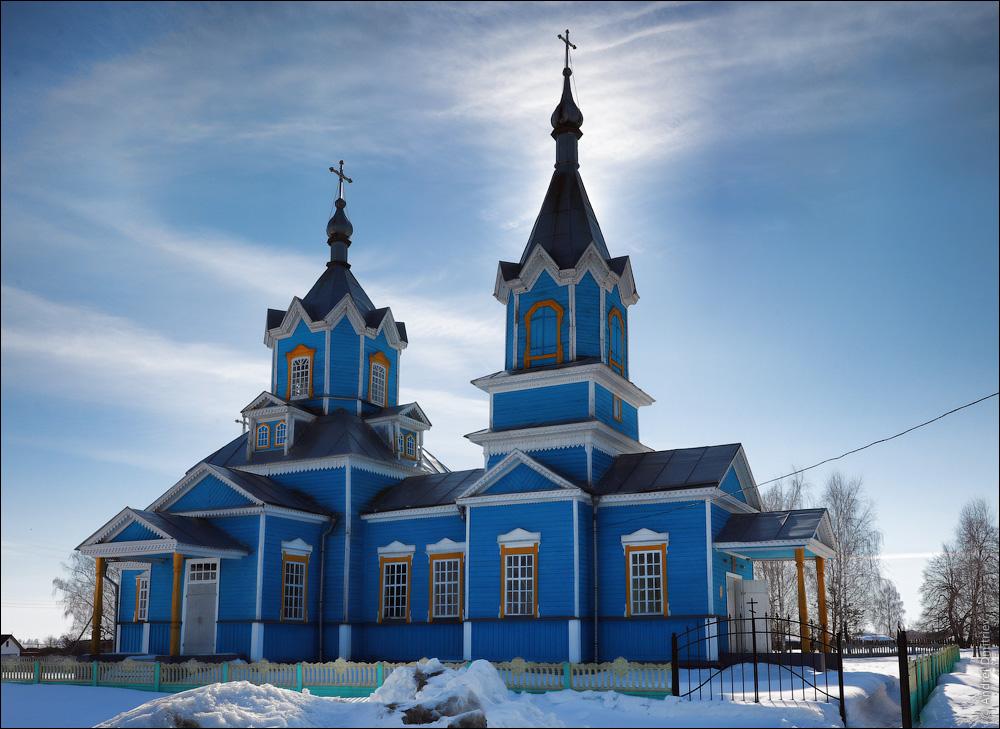 Красный Партизан, Беларусь, Церковь Рождества Богородицы