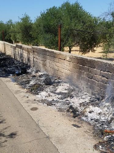 incendio circonvallazione Turi (1)