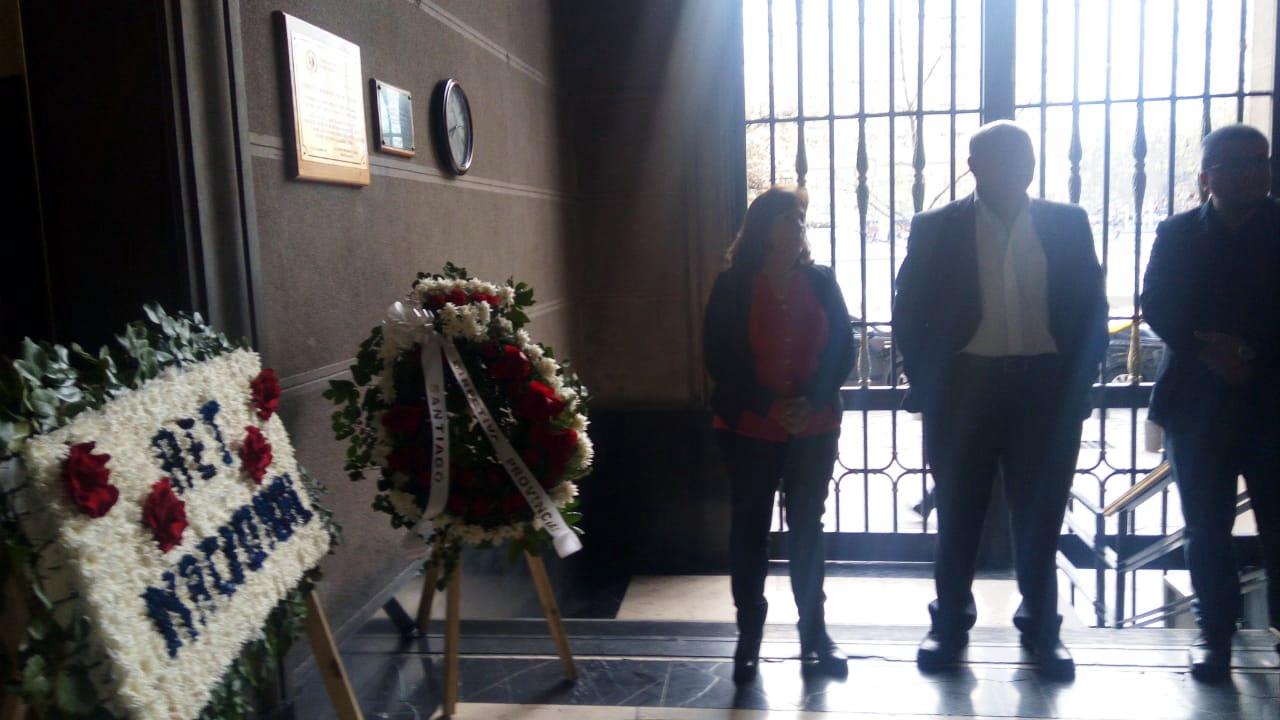 AET Nacional y Santiago conmemoran a funcionarios de la TGR víctimas del golpe militar - 11 Septiembre 2018