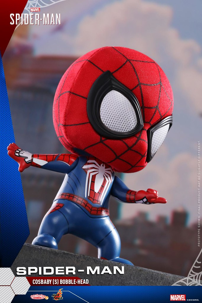 Hot Toys PS4 Spider-Man Cosbaby Bobble-Head | TOY PEOPLE NEWS
