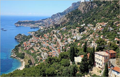 claudelina france alpesmaritimes provencealpescôtedazur roquebrunecapmartin village paysage landscape monaco