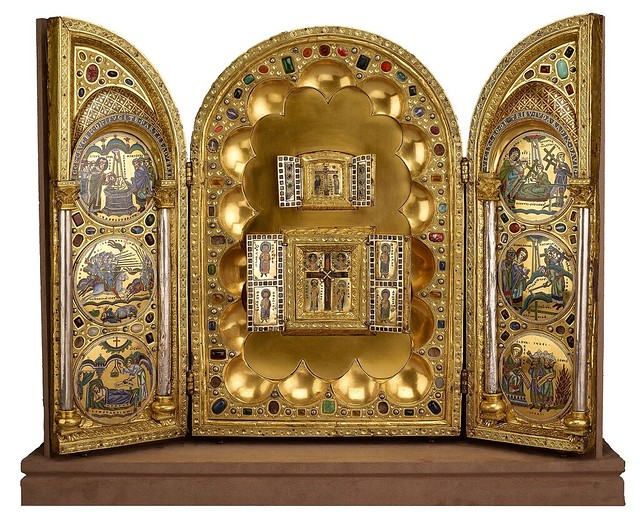 Stavelot Triptych,Reliquary of the True Cross,parousie.over-blog.fr