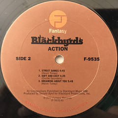 THE BLACKBYRDS:ACTION(LABEL SIDE-B)