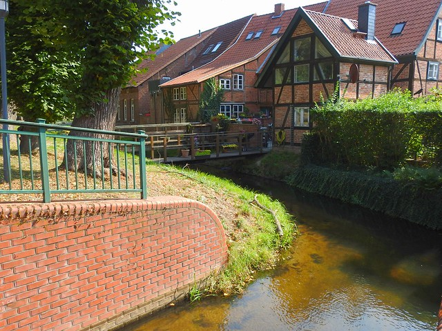 Kanal in Boizenburg