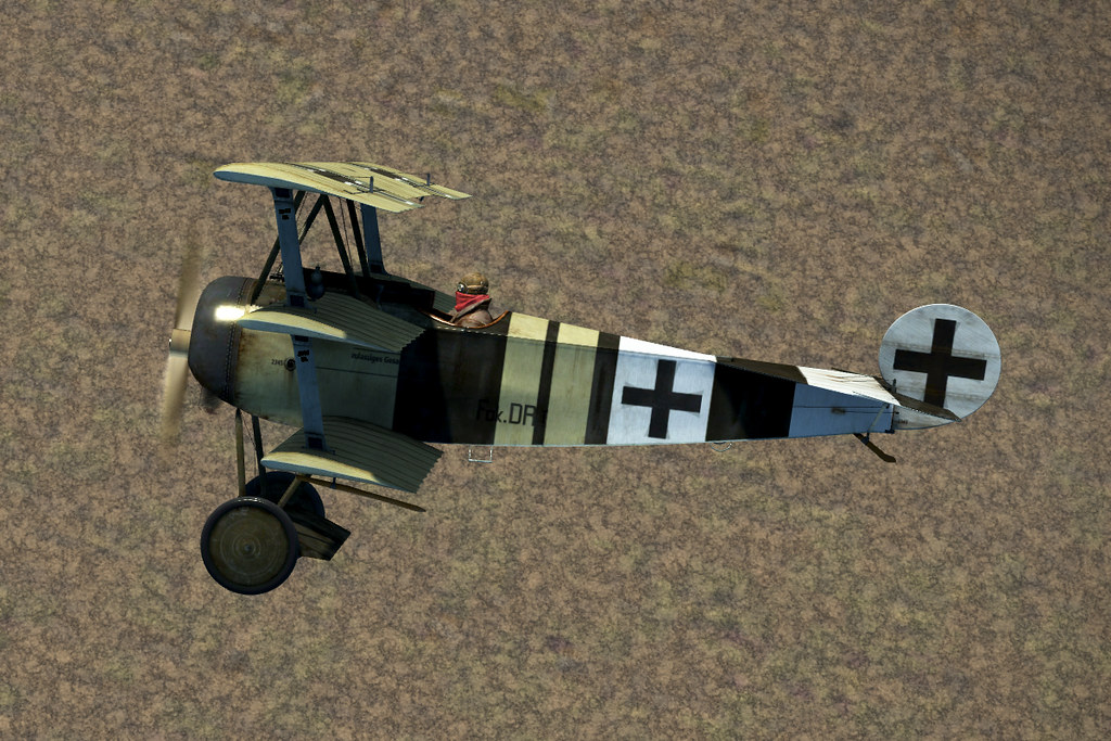 Jasta 26 Fokker Dr 1 U0026 39 S - 4k Skins And Templates