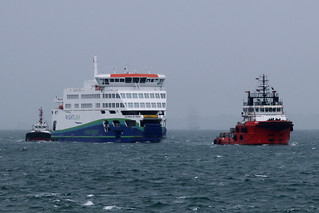 Victoria Of Wight & Amber II, The Solent, August 10th 2018