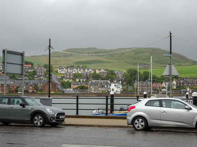 Campbeltown Harbour from Kinloch Road, 2018 Aug 01