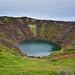 Kerið Volcanic Crater Lake along the Golden Circle in South Iceland