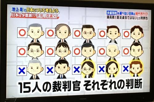 15人の裁判官 それぞれの判断