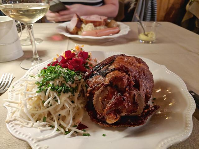 pork knuckle @ Wistub de la Petite Venise