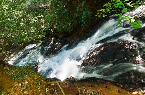 bluewallpreserve greenvillecounty southcarolina waterfall