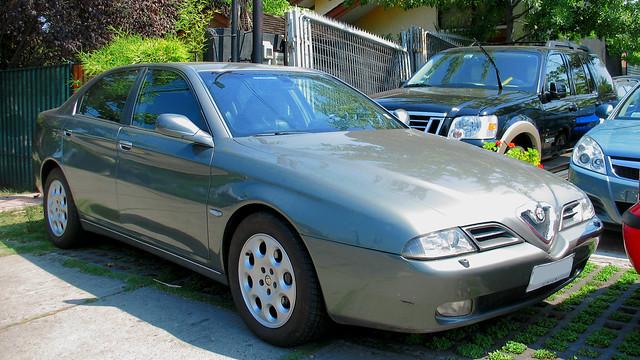 Alfa Romeo 166 3.0 2003