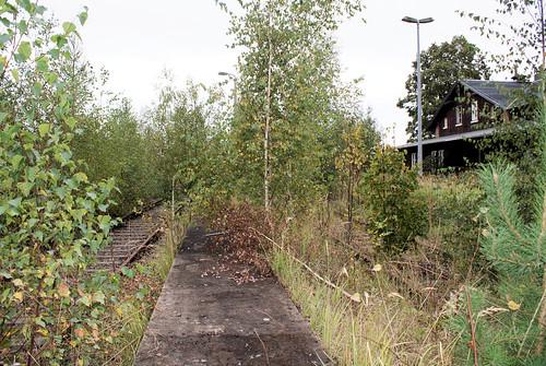 Bahnhof Herrnhut September 2011 - Gleisseite