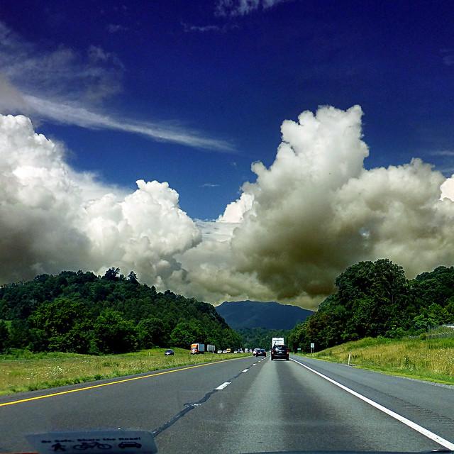 Interstate 81, Tennessee, USA, Panasonic DMC-TZ30