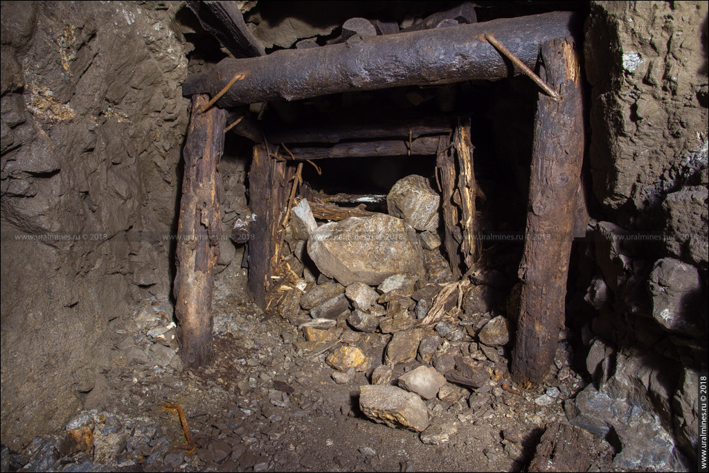 Вишневогорский рудник: штольня горы Долгой