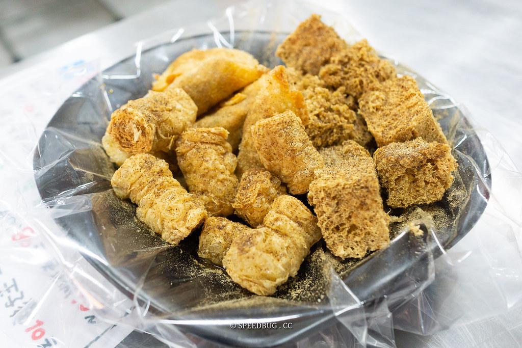 高雄鳳山五甲美食|鳳山素食花村藥膳豆腐.五甲美味酥脆臭豆腐