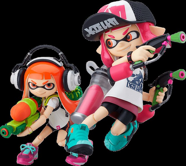 figma Splatoon 2 - Inkling Girl