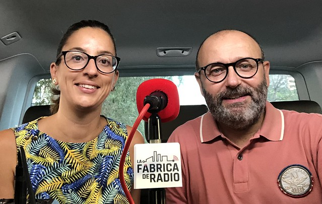 Foto 2018 09 12 Mila Martínez Paco Cremades La Fábrica de Radio Todo irá Bien Marketing On Line