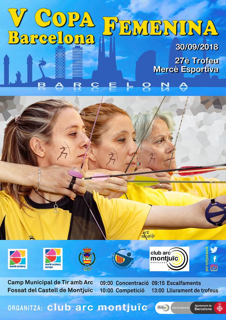 V Copa Barcelona Femenina - XXVII Trofeu Mercè Esportiva - 30/09/2018 - clubarcmontjuic - Flickr