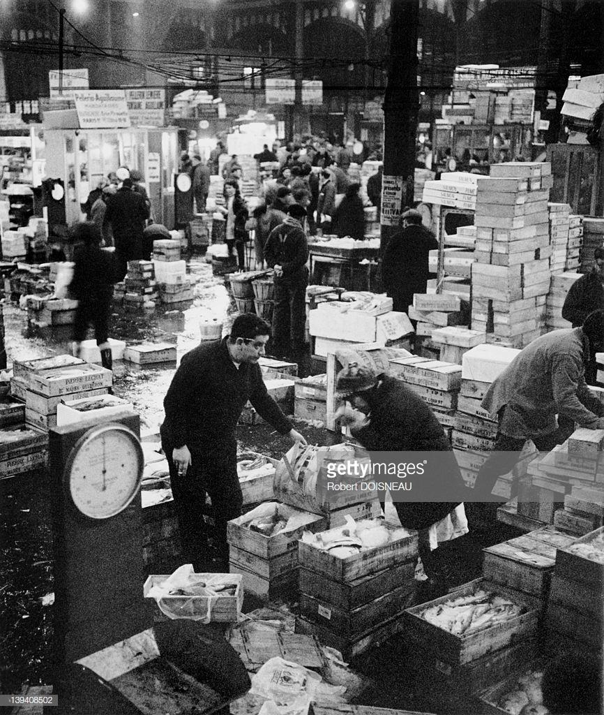 1968. Рыбный рынок в Ле-Аль