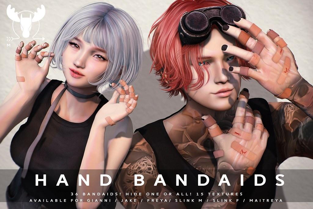 -MUSU- Hand Bandaids!