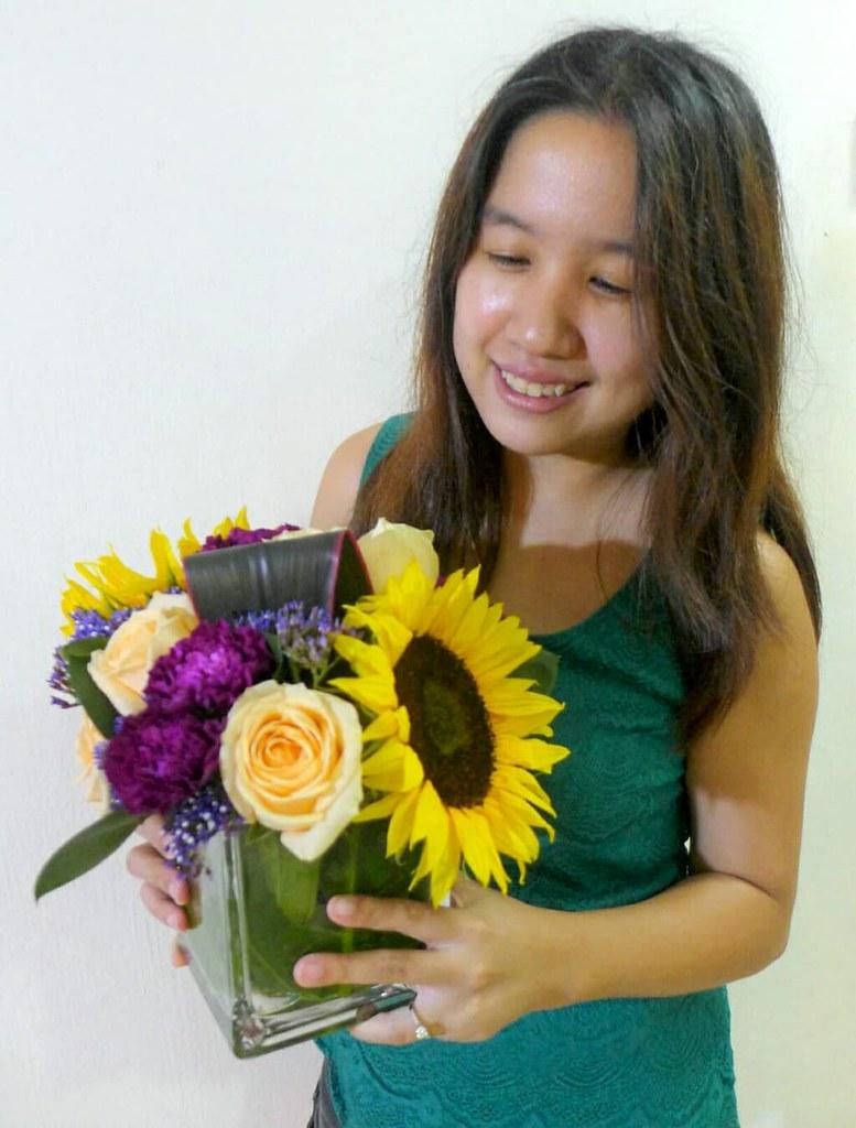 My Birthday Box Of Flowers From Little Flower Hut Gilmangirl