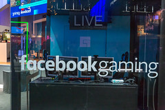 Facebook Gaming Live Booth