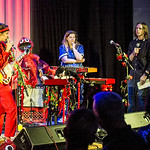 Wed, 01/08/2018 - 8:36pm - Caroline Rose and her band perform for FUV Live at Littlefield in Brooklyn, NY, 8/1/18. Hosted by Russ Borris. Photo by Gus Philippas/WFUV