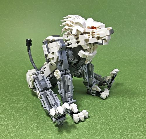 LEGO Mech Lion ver2-05