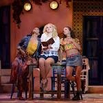 Mamma Mia! at the Arvada Center - L-R: Jasmine Jackson (Lisa), Mariah MacFarlane (Sophie) and Emily Hin (Ali) Matt Gale Photography 2018